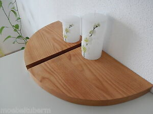 2x wandboard kirschbaum massiv holz board regal steckboard regalbrett brett ebay. Black Bedroom Furniture Sets. Home Design Ideas