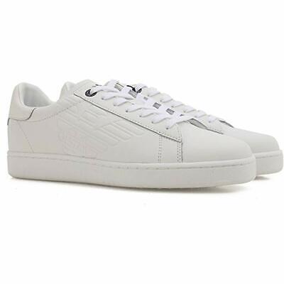 Emporio Armani EA7 White Leather