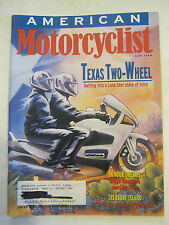 June 1998 American Motorcyclist Magazine, Texas Two Wheel (BD-30)