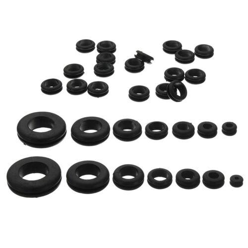 180pcs Harness Rubber Assortment Grommet Kit Set Firewall Hole Electrical