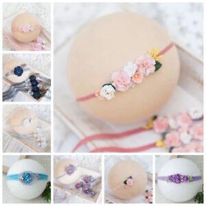 Handmade-Newborn-Baby-Toddler-Girls-Tieback-Headband-Photo-Prop-Photography