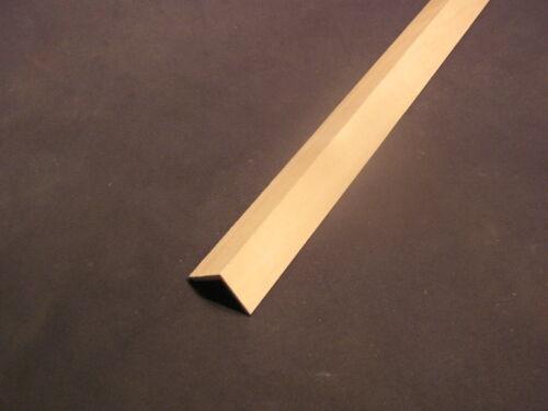 "Roof Ridge Cap dollhouse trim molding 3//4/""wide 1pc  23/"" long 1//12 scale basswood"