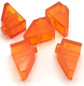 Lego 100 New Orange Slope 45 2 x 2 Sloped Pieces