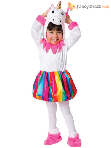 Bébé Licorne Arc-en-Costume Filles Magique Conte De Fées Déguisement Enfants Tenue