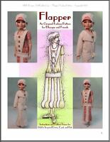 flapper Fashion Pattern - 1920's Inspired Design For Ellowyne And Amber