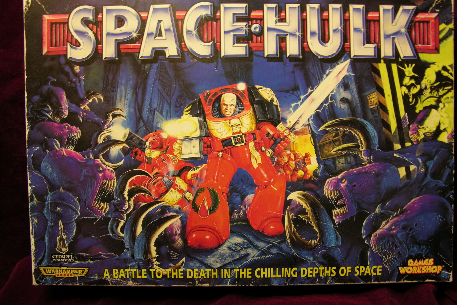 GAMES WORKSHOP     SPACEHULK,   2nd  EDITION , 117267