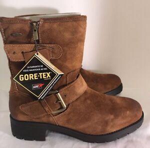 5acd0fd86 BNIB Clarks Ladies Reunite Go GTX Brown Suede Gore Tex Ankle Boots ...