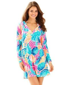 233f22498a New Lilly Pulitzer UPF 50+ Rylie Cover Up Dress Multi Goombay ...