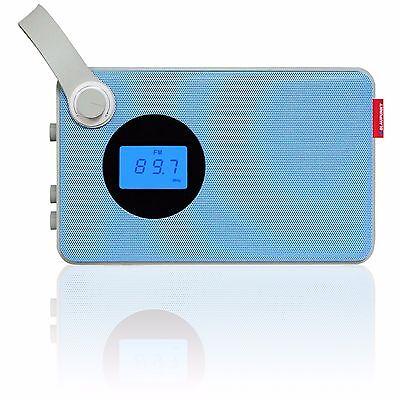 BLAUPUNKT RX 25 Design Radio Küchenradio Kofferradio, retro, USB, AUX, Akku, UKW