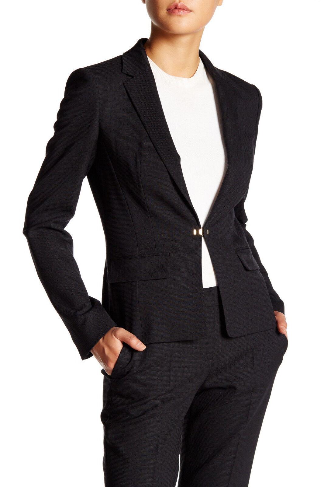 HUGO BOSS Jofena Virgin Wool Blend Blazer, Notch lapel, Size 16,  595, NWT