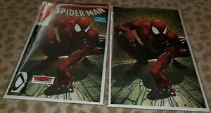 Spider-man-1-Facsimile-Clayton-Crain-Trade-Virgin-Set-Todd-McFarlane-MUST-HAVE