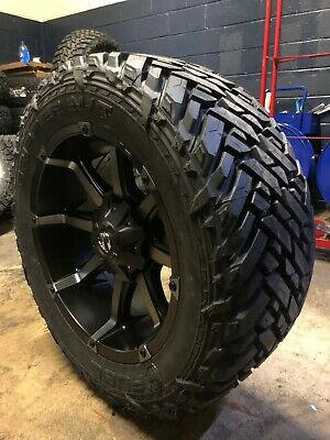 Jeep Wrangler Rims And Tire Packages >> 20x10 Fuel D556 Coupler 33 Mt Wheel Tire Package 5x5 Jeep Wrangler Jk Jl Tj Ebay