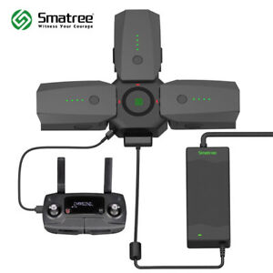 Smatree-80W-Rapid-Battery-Charger-AC-Adapter-and-Charging-Hub-for-DJI-Mavic-Pro