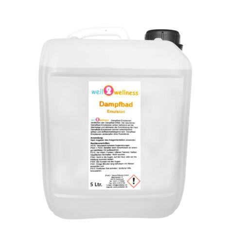 Fragranza Bagno Vapore Emulsione Aroma 5,0 L /> 200 Profumo a Scelta