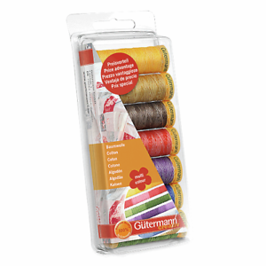 731146-1 Gutermann Thread set COTTON 100mx 7 reels multicolor sewing quilting