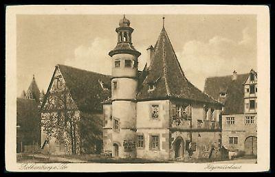 Ehrlichkeit Ak Rothenburg Ob Der Tauber Alte Ansichtskarte Foto-ak Postcard Cx44 Novel In Design;