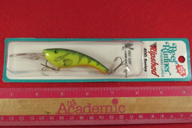 """Challenger 4 1//2/"""" Deep Minnow 3//8 Oz Dives 15/'-20/' Fishing Lure T08 Hot Tiger"""