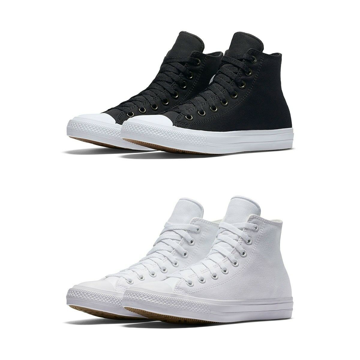 New All Converse Chuck Taylor All New Star II High Top Canvas Shoes נעלי אולסטאר גבוה 668465