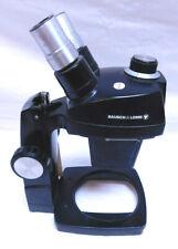 Bausch Amp Lomb 1x 25x Stereo Microscope Amp Base J01035