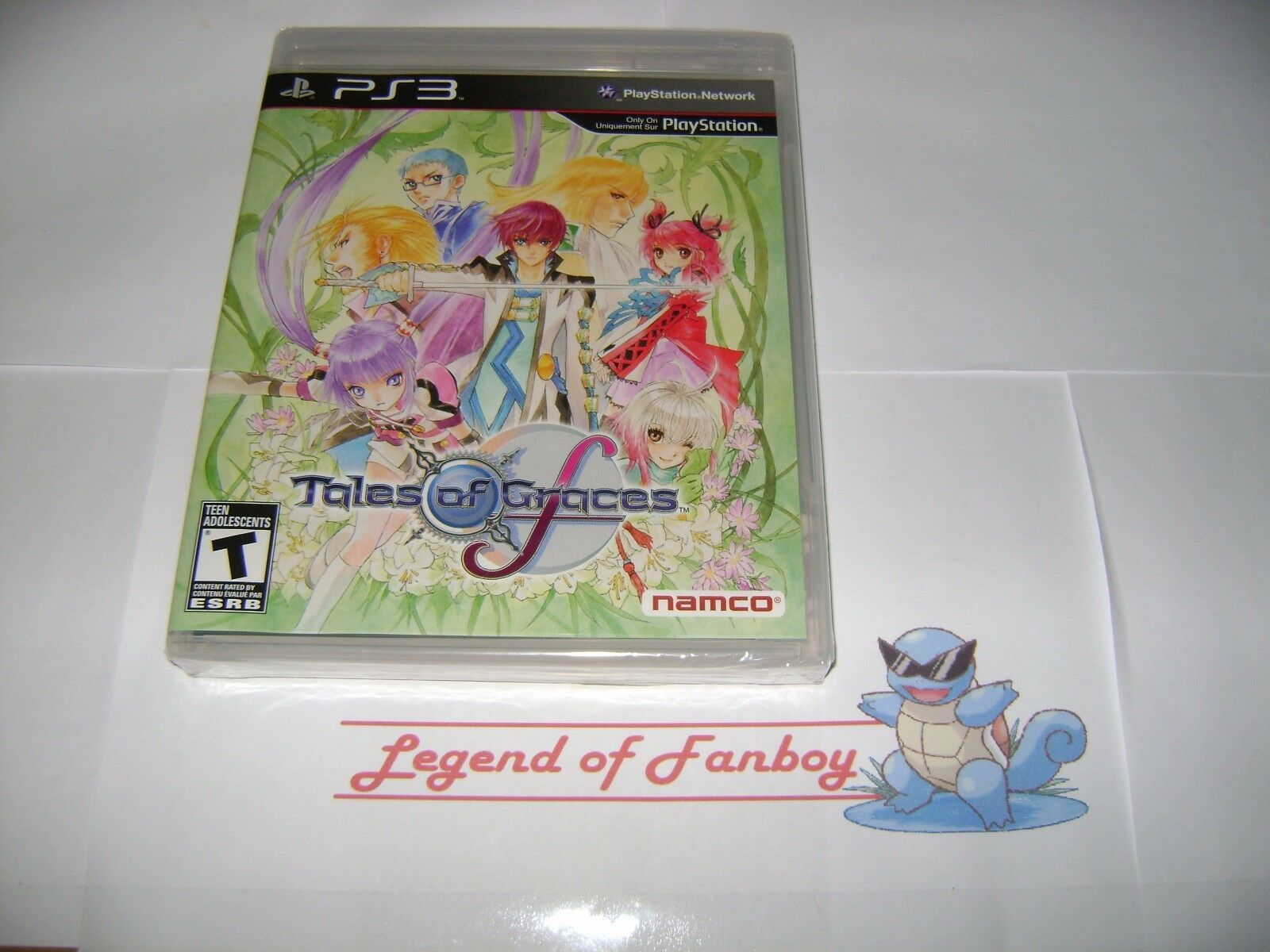 New Sealed Tales Of Graces F Sony Playstation 3 Ps3 Usa