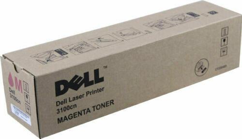 Genuine Dell 3000cn, 3100cn MAGENTA Toner Cartridge 4,000 pg High Yield  K4972