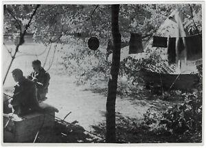 Ein-deutscher-Feldflughafen-in-Frankreich-Orig-Pressephoto-von-1940