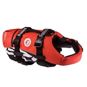 EZYDOG-SEADOG-LIFE-JACKET-FLOATATION-AID-FOR-DOGS-LARGE-OR-SMALL-RED
