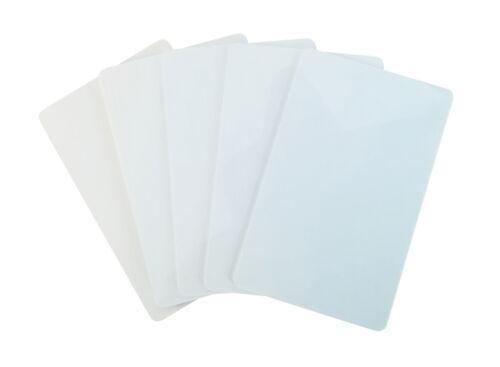 25 Plastikkarten WEISSPremium Qualität aus DeutschlandFür Kartendrucker