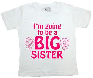 Camiseta-hermana-mayor-034-voy-a-ser-hermana-mayor-034-Camiseta-graciosa-chica-ropa-presente