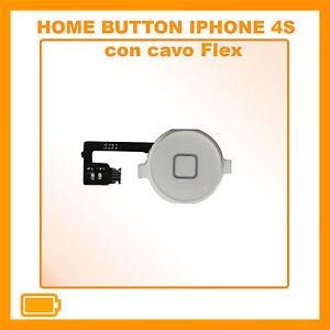 TASTO-HOME-PULSANTE-CENTRALE-CURSORE-FLAT-FLEX-PER-APPLE-IPHONE-4S-BIANCO-WHITE