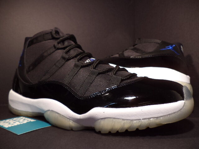 2009 nike air jordan xi 11 retro blau space jam schwarze royal blau retro - weiß 378037-041 8,5 cc1e38