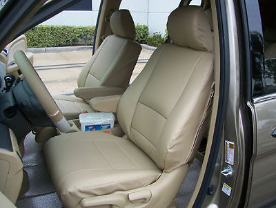 HONDA ELEMENT 2003-2012 IGGEE S.LEATHER CUSTOM FIT SEAT COVER 13COLORS AVAILABLE