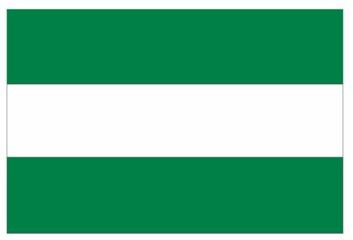 ANDALUSIA ANDALUCIA Flag Sticker MADE IN USA F22 YOU CHOOSE SIZE