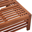 Wooden Garden Parasol Stand Base Umbrella Holder Pool Wood Small Low Table