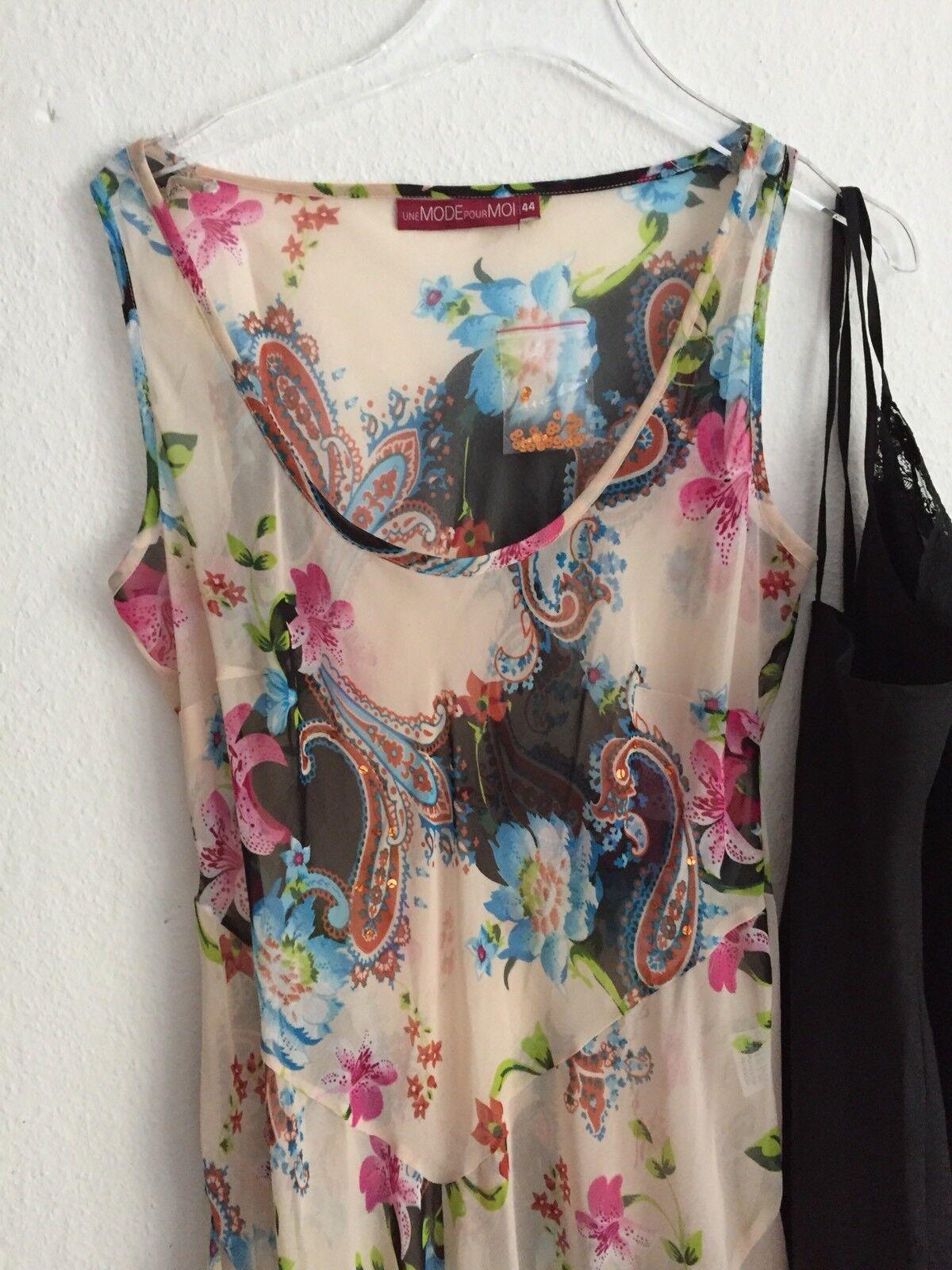 2 Tlg BlauMänner  Kleid Kleid Une Mode Gr 42  Fr 44