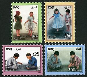 Irak-Iraq-2016-Kinderspiele-Kinder-Children-Popular-Games-Postfrisch-MNH