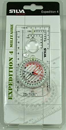SILVA Expedition 4 Militaire 6400//360 Military Compass Brand New