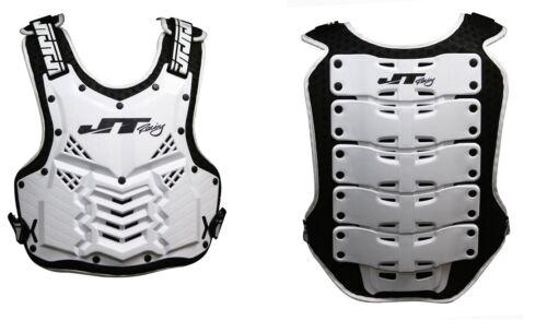 JT Racing USA v-2k carro armato petto bianco ecc THOR Sentinel Motocross MX Enduro