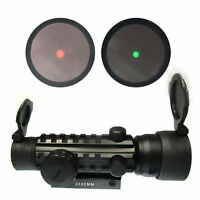 Hunting 2x42 Red Green Dot Scope Sight 20mm Weaver Mount Rail