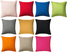 Fundas Cojines Ikea.Detalles De Ikea Gurli Funda De Cojin Almohada Decorativa 50x50cm Intra Cremallera