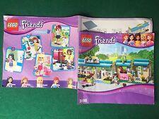 (Q4) LEGO FRIENDS 3188 CATALOGO MONTAGGIO VETERINARIO Brochure Prospekt KATALOG