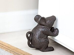 Image Is Loading Cast Iron Metal Cute Mighty Mouse Rustic Heavy