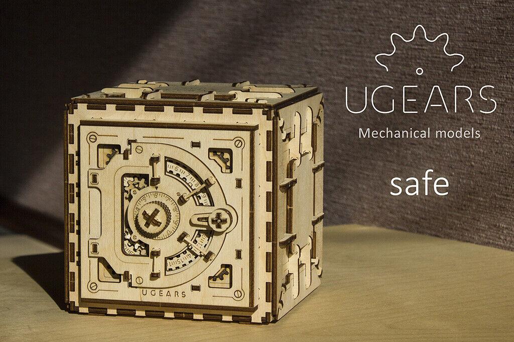 Ughears mekaniska modelller - Pussel Kit Mekaniska kassaskåp