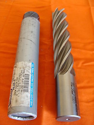 "NOS WELDON AE 40-8 1 1//4/"" X 1 1//4/"" X 6 HS SINGLE SQUARE END MILL 6 FLUTE USA"