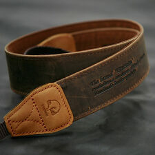 MATIN D-SLR RF Mirrorless Camera Neck Shoulder Leather Strap Vintage-38 Brown