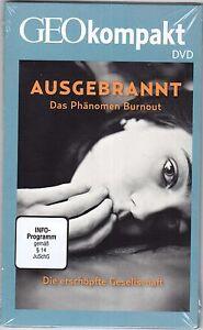 GEO kompakt/DVD/Ausgebrannt/Das Phänomen Burnout/Neu OVP
