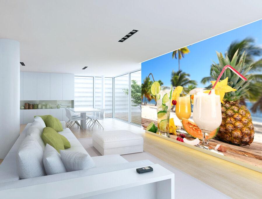 3D 3D 3D Fresh Fruit Juice 1055 Paper Wall Print Wall Decal Wall Deco Indoor Murals e20981