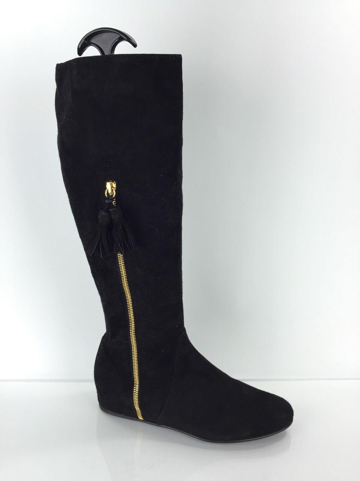 Stuart Weitzman Women's Black Knee Boots 7 M