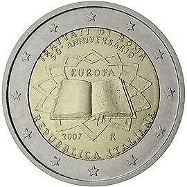 2 Euro ITALIE 2007- Traité de Rome
