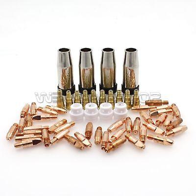 50pcs Binzel MB 24KD MIG Welding Consumables Tip 0.8mm Nozzle 140.0054